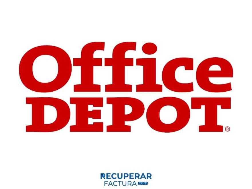 logo recuperar factura office depot